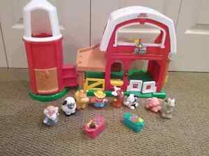 Fisher price little people farm set
