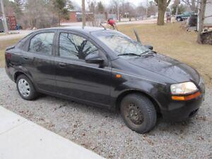 2004 Chevy Aveo Cheap good car