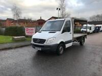 2009 Mercedes-Benz Sprinter 2.1TD 311CDI MWB-Chassis Cab-Milk Float-Flatbed-