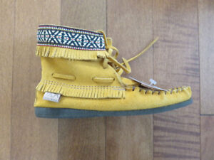 Women's Concho Moccasin Boot