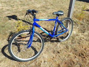 18 inch blue Supercycle $60.00