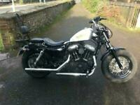 2012 (62) Harley-Davidson Sportster 48 XL1200 X (Forty Eight) - 13580 miles