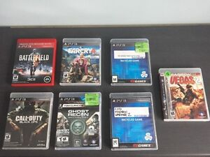 PS3 Games, all work great