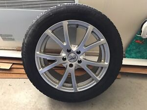 Acura RDX wheels and 255/55 R18 winter tires