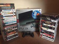 PlayStation ps3 Slim 320GB 48 games