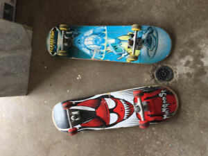 two skateboards $10 each