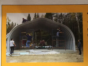 Quonset Building - Brand New! Make an Offer!