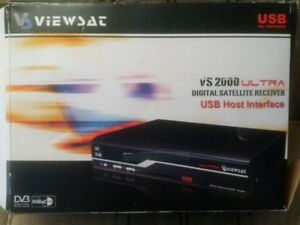Viewsat Ultra VS2000 FTA Satellite TV Receiver