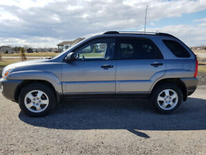 2008 KIA SPORTAGE LX V6, NEW SAFETY, CLEAN TITLE, 1 OWNER