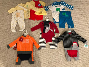 Brand new 3-6 month boys clothing lot