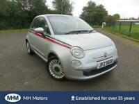 2010 FIAT 500 1.2 LOUNGE 3DR ONLY 57000 MILES £30 ROAD TAX IDEAL FIRST CAR CLIO