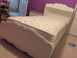 SOLD - Thank you/Girl's Twin White Bedroom Set St. John's Newfoundland image 3