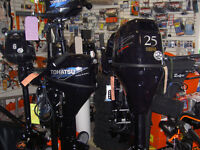 TOHATSU OUTBOARDS. SHELTERED COVE MARINE WILL NOT BE UNDERSOLD