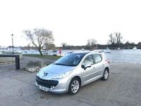 2008 Peugeot 207 SW 1.6 VTi 120 Sport 5 Door Estate Silver