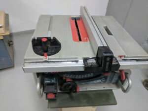 Portable table saw banc de scie