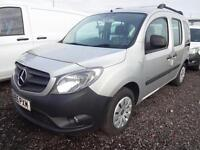 2015 Mercedes-Benz Citan 109 CDI TRAVELINER Diesel silver Manual