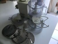Braun multi practic food processor with all attachments