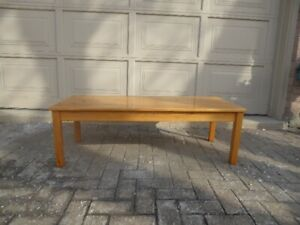 "1 – ""IKEA"" SOLID PINE RECTANGULAR SHAPED COFFEE TABLE"