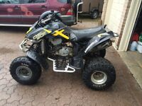 2004 Bombardier DS650X with extras