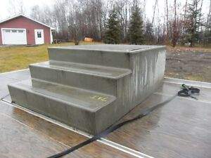 Concrete Step, Lumber 75 fence posts 4'' x 10ft Treated