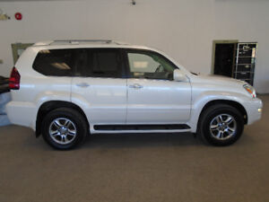 2008 LEXUS GX470 LUXURY 4X4! 7 PASS! PEARL WHITE! ONLY $12,900!