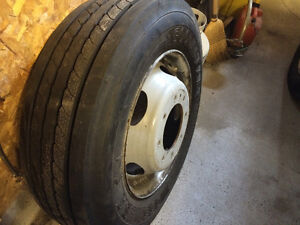Tire and rim like brand new