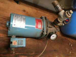 well pump and  6 inch delta jointer