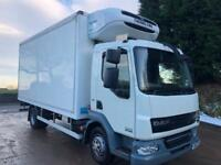 2011 11 DAF LF 45.160 Euro 5, 17ft solomon fridge box, Thermo king T-800 freezer