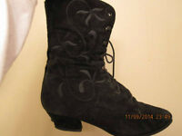 Vintage Steampunk Granny Boots