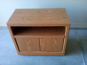 Oak TV stand or microwave stand