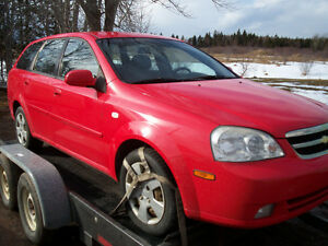 2006 Chevy Optra wagon plus parts car/2000 Echo coupe