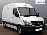 2013 Mercedes-Benz Sprinter 313 CDI MWB Diesel white Manual