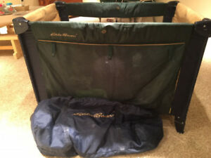 Eddie Bauer Pack-able Playpen | Storage/transport Bag INCLUDED!