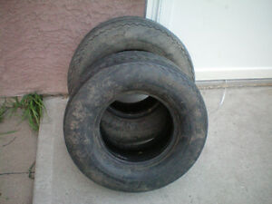 2 Carlisle USA Trail Tires * 20.5 x 8.0-10 N90 * $50.00 for 2