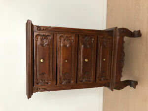 Rosewood shelf/ drawer handcraft import from China