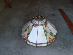 Beautiful Hanging Stained Glass Lamp