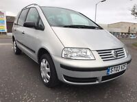 Volkswagen Sharan excellent service large 7 seater