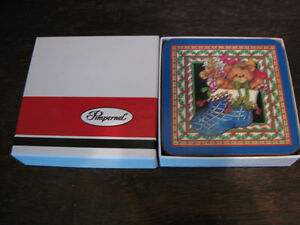 Pimpernel Lucy Rigg Christmas Teddy Bears Coasters, England Kitchener / Waterloo Kitchener Area image 2
