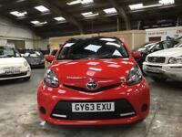 Toyota Aygo Vvt-I Move With Style Mm Hatchback 1.0 Semi Auto Petrol