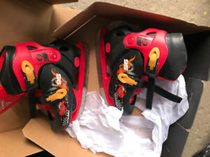 Disney McQueen Adjustable Skates for boy (Youth Size 13 to 2)