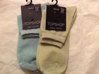 💙🍭💚 Top Shop glitter ankle socks brand new