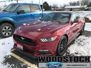 2016 Ford Mustang GT Premium Fastback   GT PERFORMANCE PACKAGE,