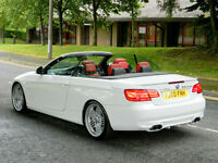 BMW ALPINA B3 S 400 HP 2011MY IN ALPINE WHITE WITH RED LEATHER - RARE & STUNNING