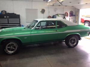 THIS IS A REAL HEAD TURNER 1972 NOVA $35.000
