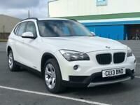 2013 BMW X1 XDRIVE18D SE IN ALPINE WHITE Estate Diesel Manual