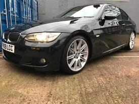 2009 BMW 3 SERIES 325i [3.0] M Sport 2dr Auto, paddle shift , One Owner FSH