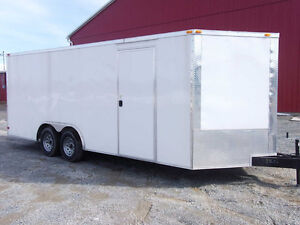 2016 SGAC 8 1/2' x 20' Enclosed Car Hauler/Cargo Hauler