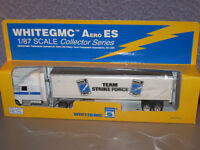 WHITEGMC , COLLECTOR SERIES TEAM STRIKE FORCE TRUCK & TRAILOR