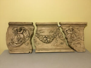 Wall Hanging - looks like sculpted Plaster