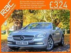 2012 Mercedes-Benz SLK SLK250 Blue Efficiency 7G-Tronic Plus Auto Convertible El